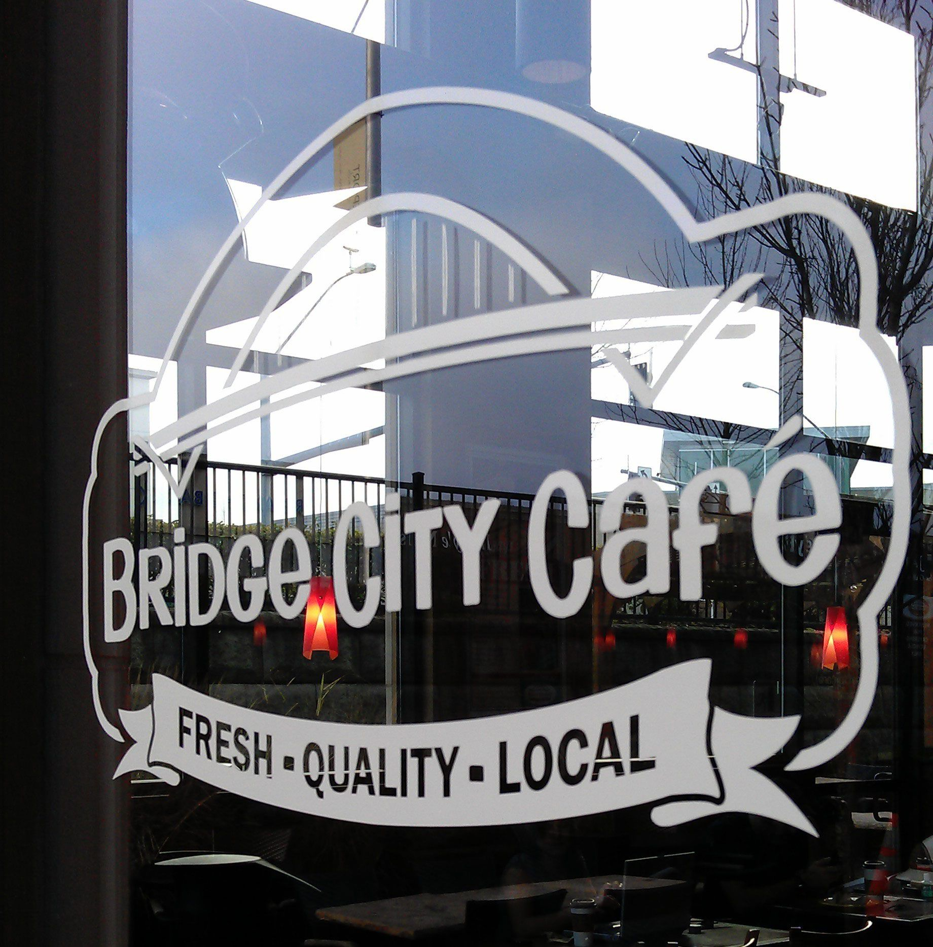 Bridge City Cafe! Home of the chipper,  Man I love this place!