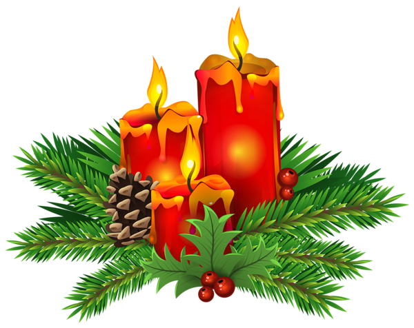 christmas candles png clip art image weihnachten. Black Bedroom Furniture Sets. Home Design Ideas