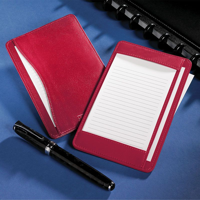Shirt pocket briefcase leather notepad card holder writing pad shirt pocket briefcase leather notepad card holder writing pad levenger would reheart Images