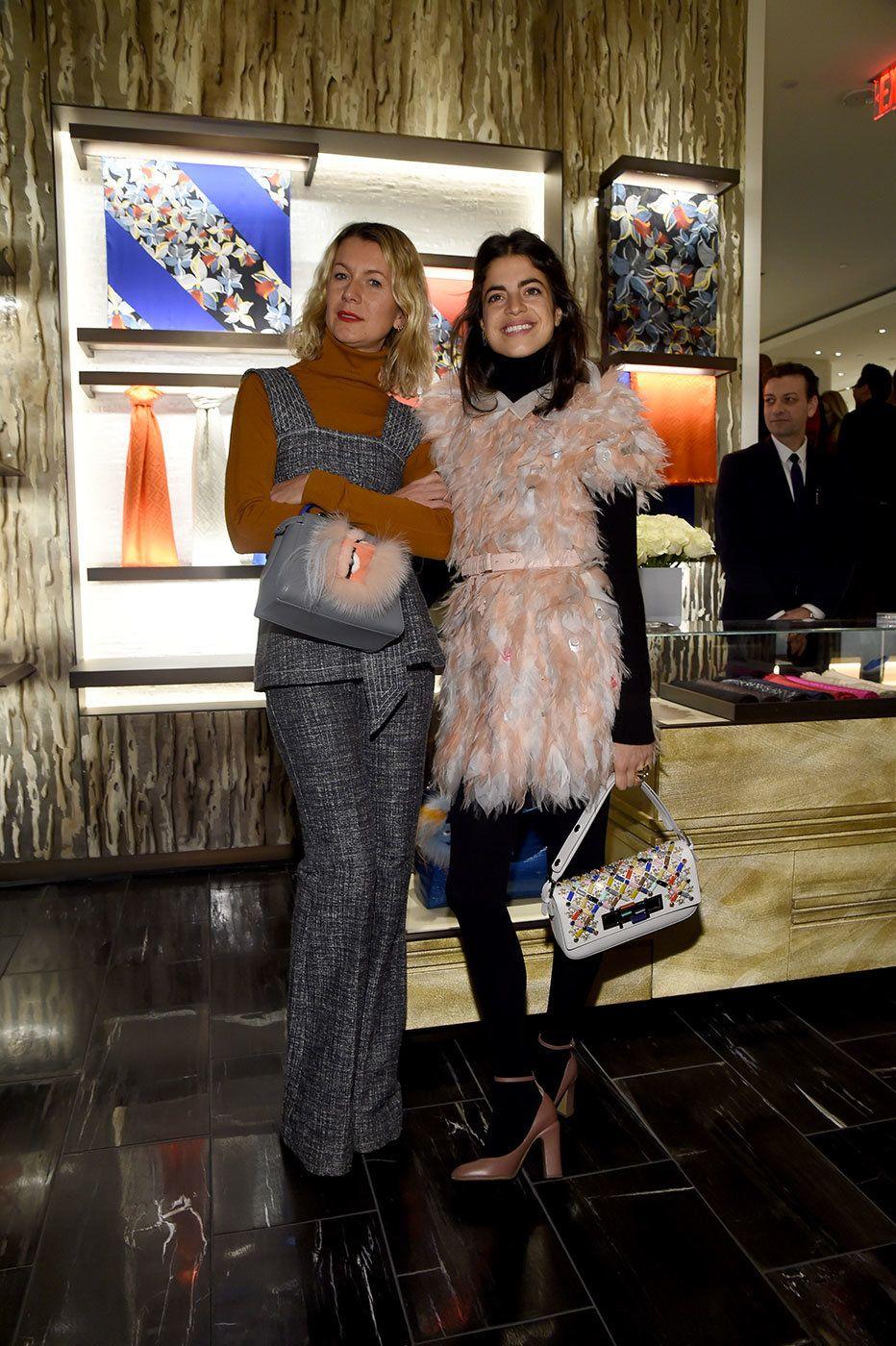 Karl Lagerfeld and Silvia Venturini Fendi Celebrate Fendi's New 3Baguette Charity Initiative – Vogue