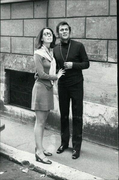 Tony Curtis And Leslie Allen 1968 Tony Curtis Pinterest Tony