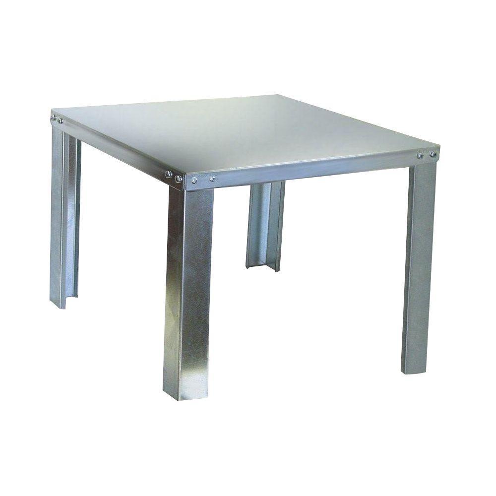 Holdrite 24 In Galvanized Steel Water Heater Stand 40 S 24 U H Galvanized Steel Water Heater Steel Water