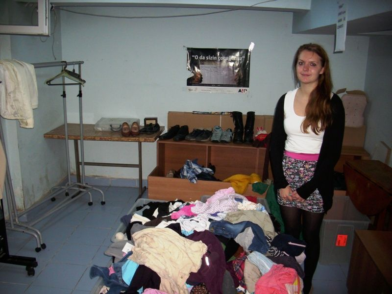Jessica from Germany is volunteering at Urgent Need
