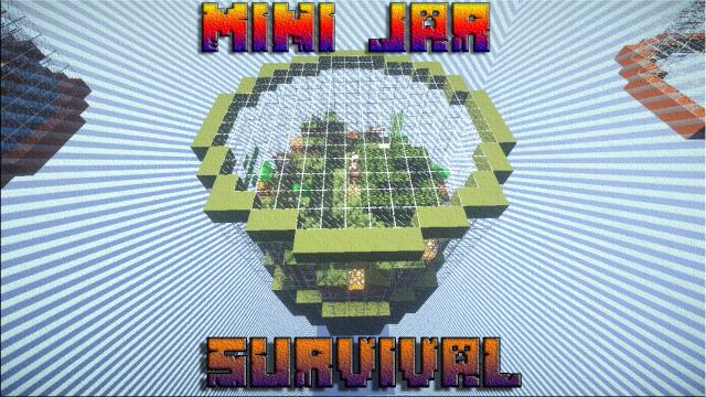 Mini Jar Survival Map for Minecraft 1.8.8 Minecraft Mods