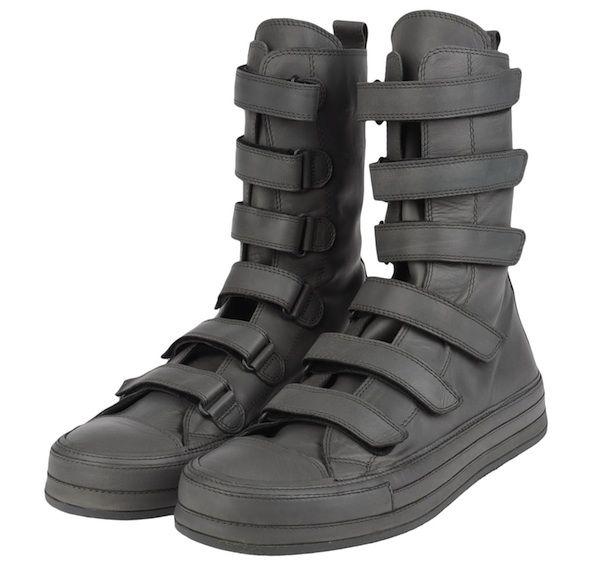Vente Style De Mode Ann Demeulemeesterhigh-top sneakers La Sortie Fiable Vente Sortie uqMjXTKHA