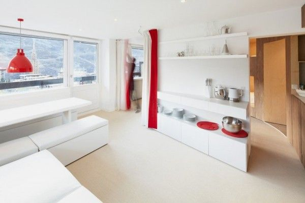Interior Design For Small Apartment With Many Beds In Menuires Ski Awesome Apartment Design Online Minimalist