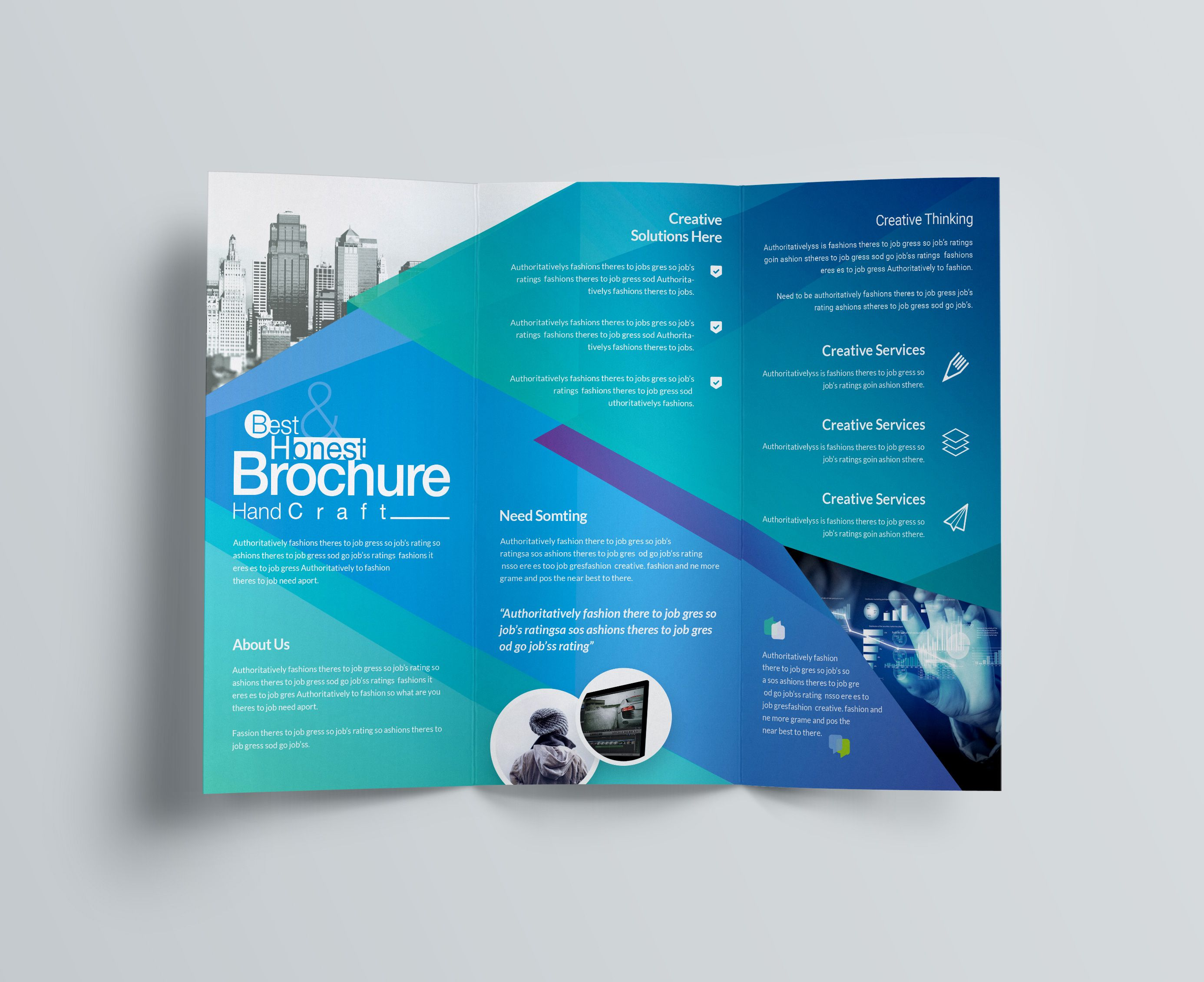Excellent Professional Corporate Tri Fold Brochure Template Graphic Templates Free Business Card Templates Free Brochure Template Business Card Template Word