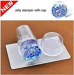 Placa de diseños - Sannysis Herramienta de bricolaje de uñas de manicura (Clear)