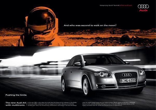 MOON, Audi A4, Saatchi & Saatchi, Audi, Print, Outdoor, Ads