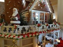 Mammoth 16-foot-tall Victorian-themed Gingerbread House at the Disney Grand Floridian Resort and Spa!