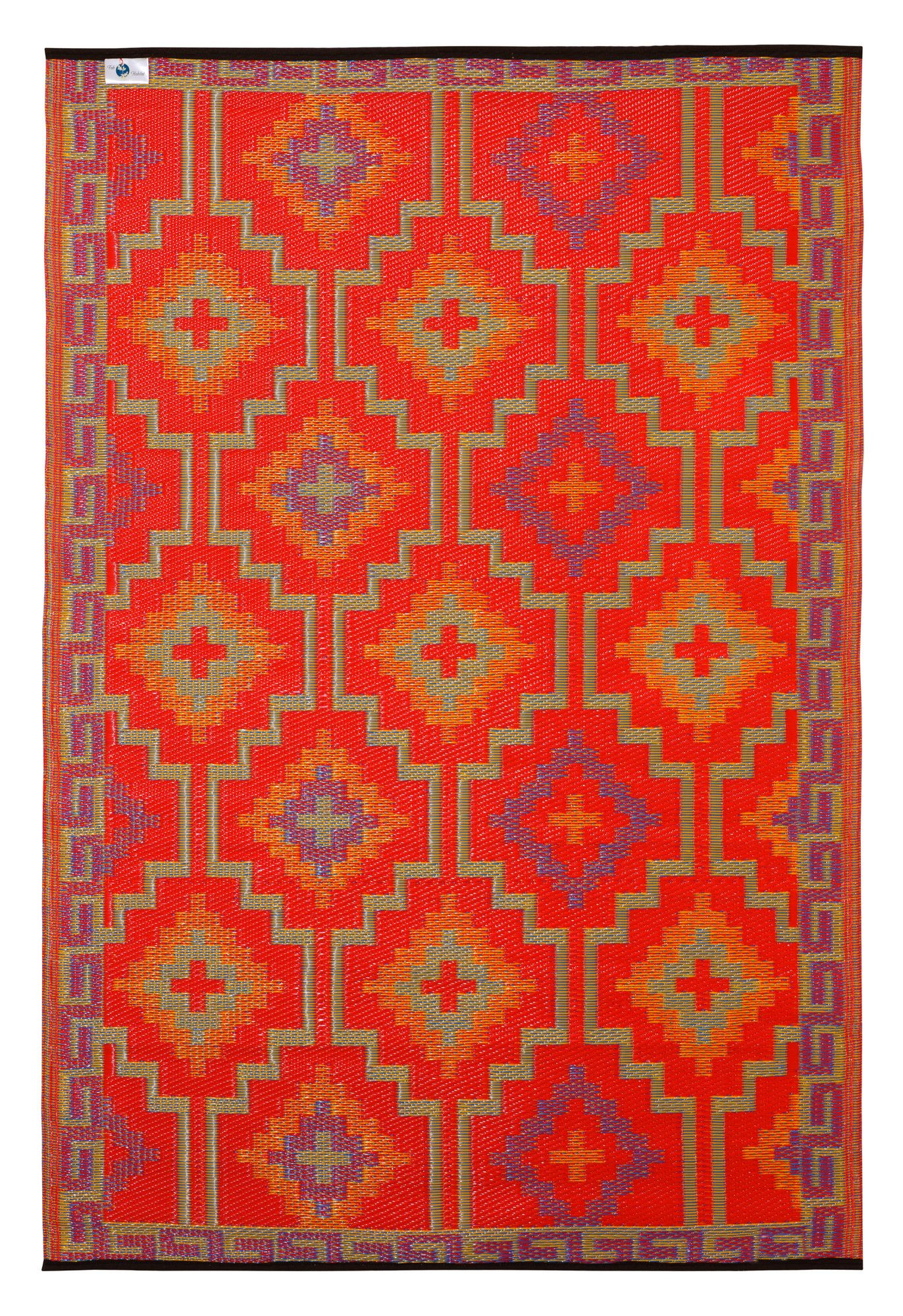 Love How Bright This Is Fab Rugs World Lhasa Orange Violet Rug