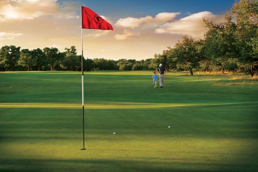 Golfing Cimarron, Soccer field, Golf courses