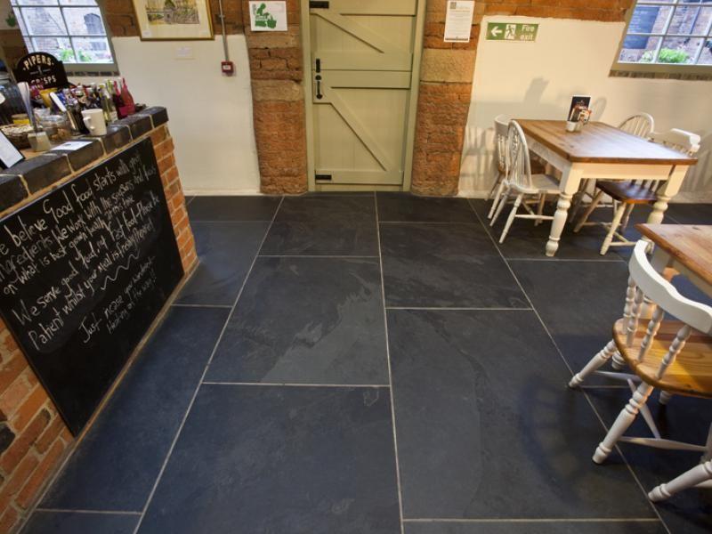 images about floors on pinterest chevron tile travertine and rough cut - Slate Floor Tiles