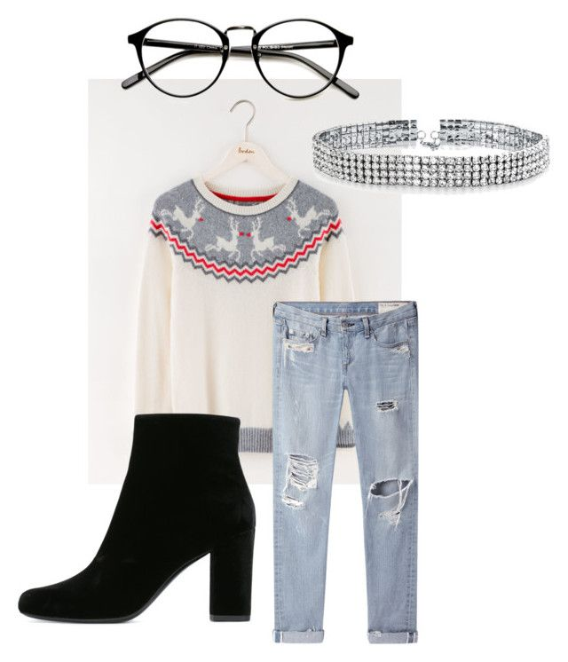 """""""Untitled #28"""" by actuuaally on Polyvore featuring Boden, Yves Saint Laurent, rag & bone/JEAN and Bling Jewelry"""