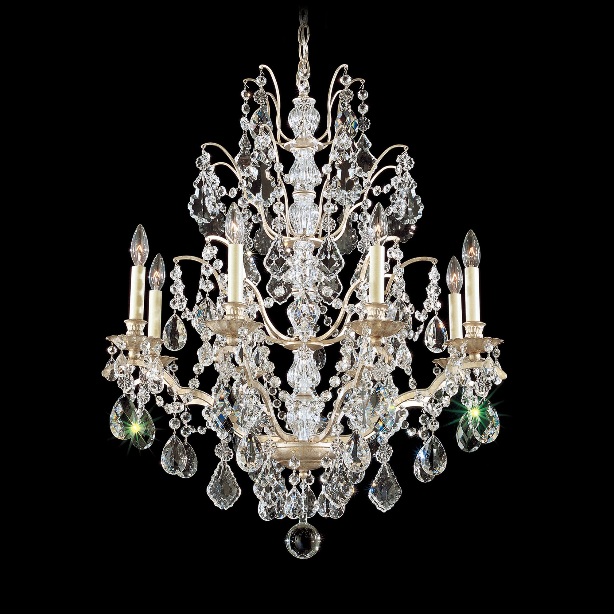 Schonbek Bordeaux 8 Light Chandelier | Wayfair