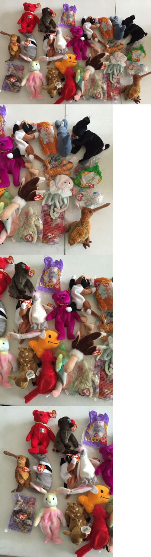 5307f4ca8d1 Teenie Beanies 441  Beanie Baby Lot Of 26 Dolls With Tags