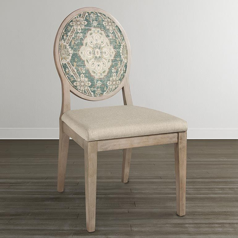 Custom Dining Oval X-Back Uph Side Chair | Side chairs ...