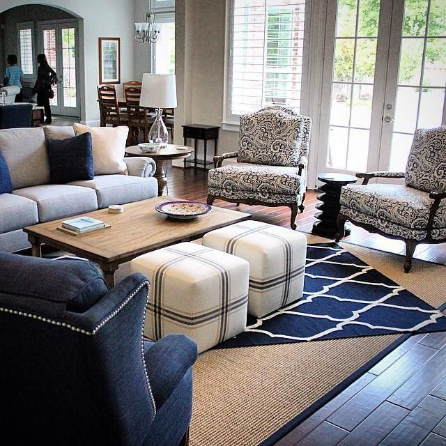 Ethan Allen Furniture Rugs Harris Chairs Chad Ottomans Family