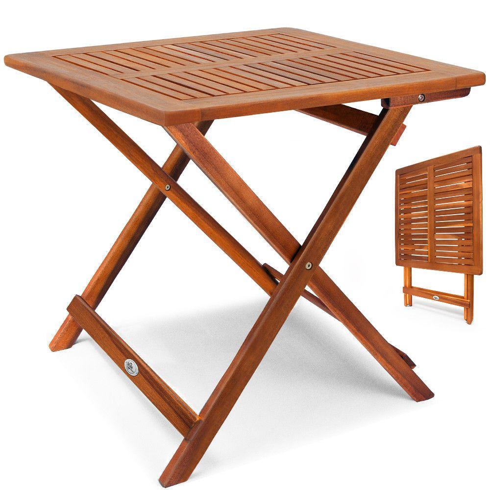 Gartentisch Beistelltisch Klapptisch Balkontisch Klappbar Garten Holz Massiv Table Basse Bois Table De Jardin Table D Appoint