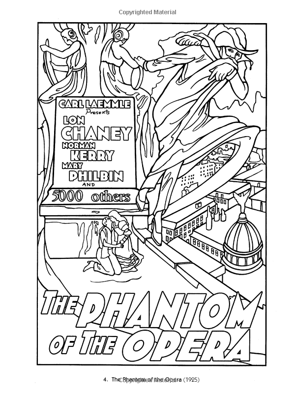 Color Your Own Classic Movie Posters Marty Noble Classic Movie Posters Movie Posters Vintage Movie Posters