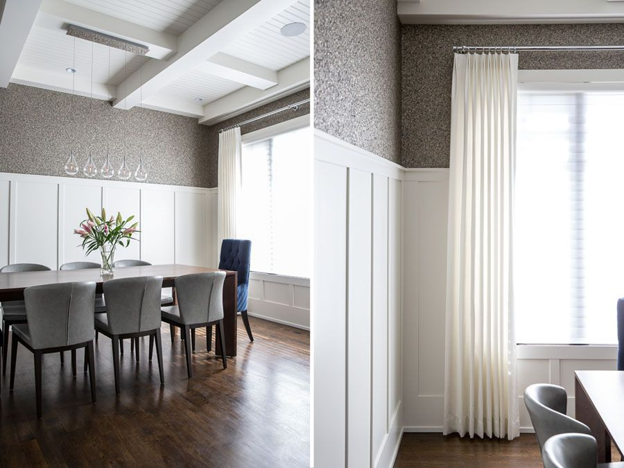 Luxe Dining Room Design By Calgary And Kelowna Interior Designer