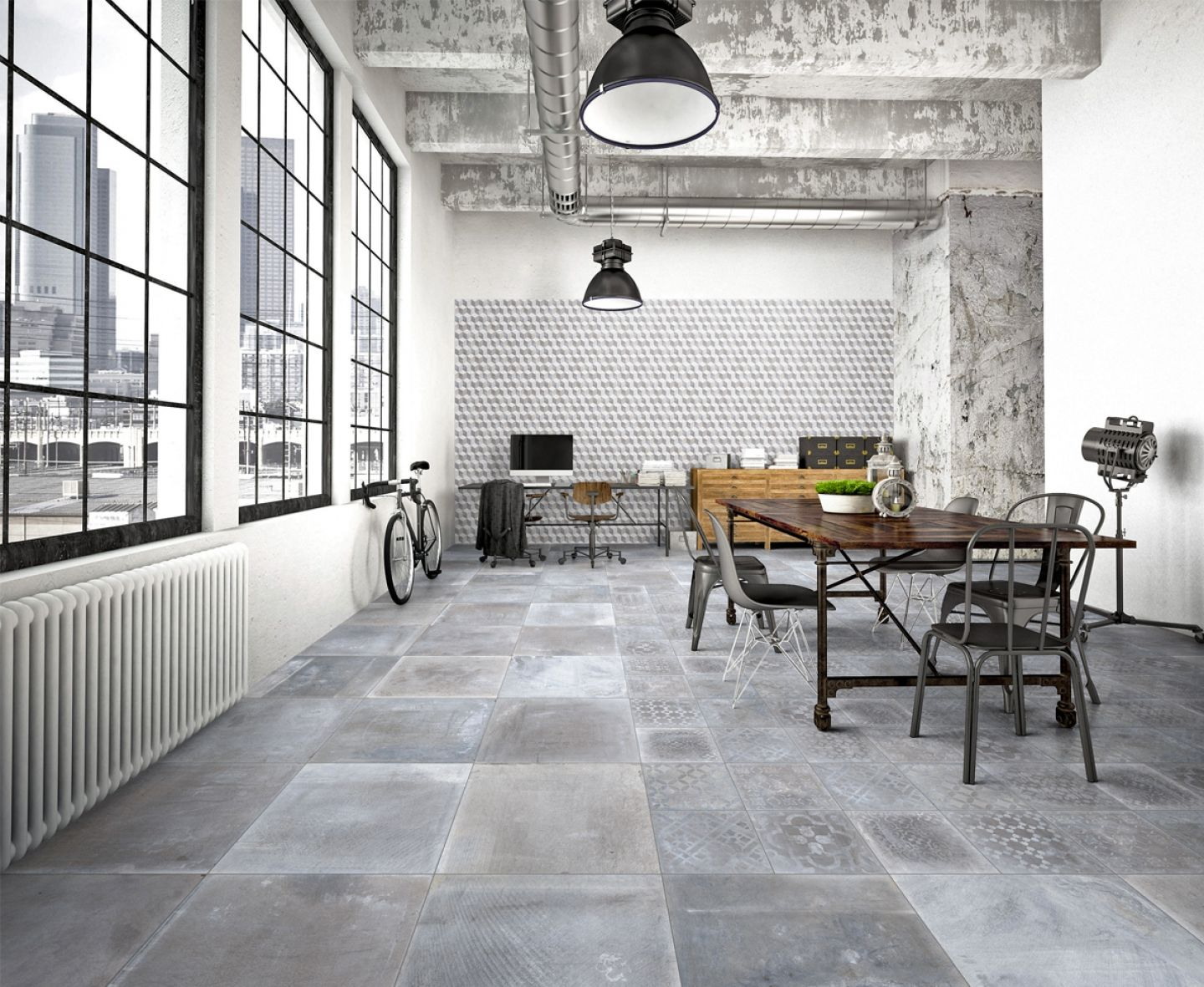 Sintesi Ceramica Italiana.Sintesi Ceramica Italiana Cement Look Tiles Piastrelle
