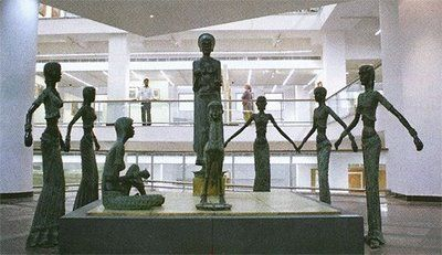 Bronze A Ramachandran The National Gallery Of Modern Art
