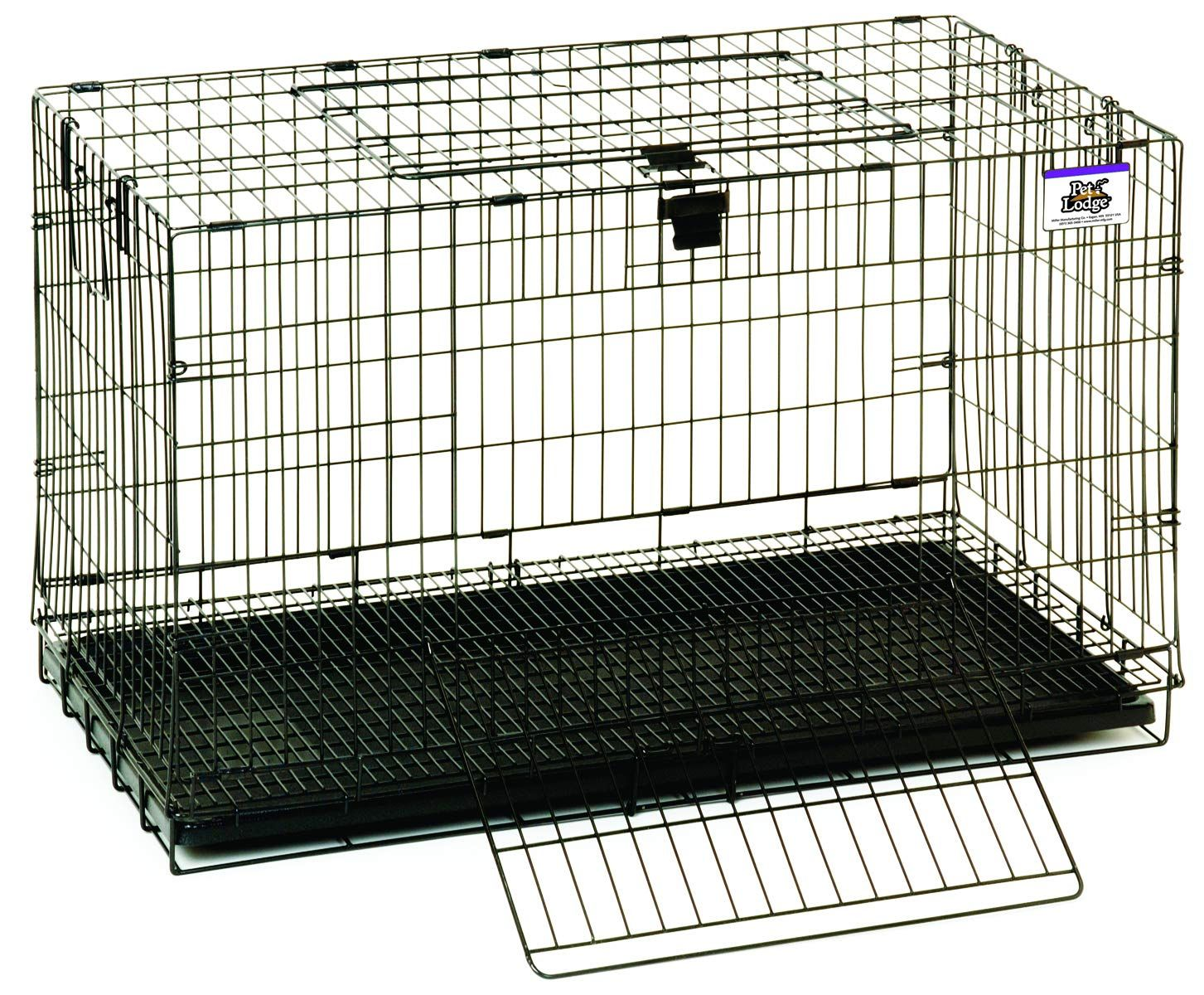 Pet Lodge Medium Rabbit Cage Little Giant Portable Wire Pop Up Rabbit Cage W Easy To Clean Pull Out Floor Also Great F In 2020 Rabbit Cages Small Animal Cage Cage