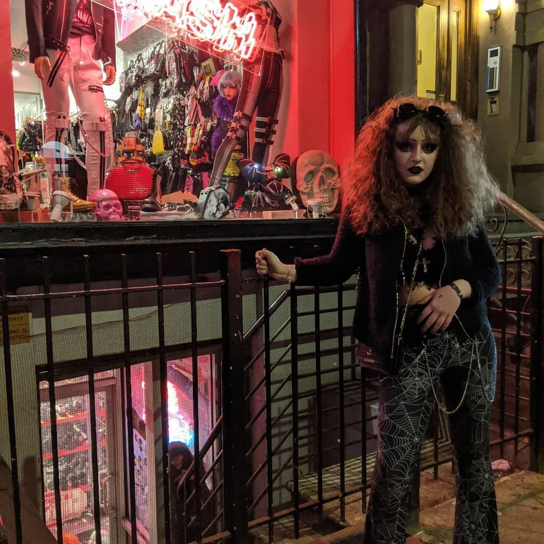 Goth Night Life in NYC  sp1ritsturn   Click Pic To Shop