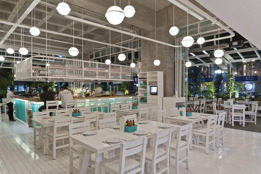 Bellopuerto Reforma Restaurant,© Luis Gallardo