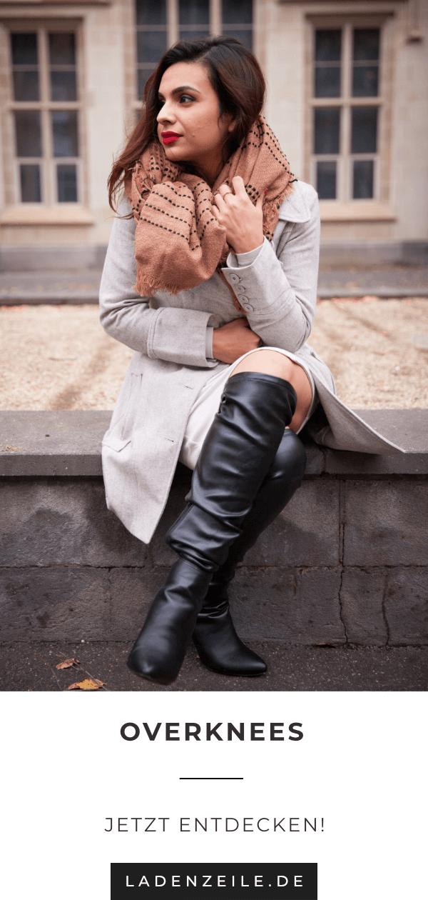 Damenoverkneestiefel für den Winter | Mode, Damen ...