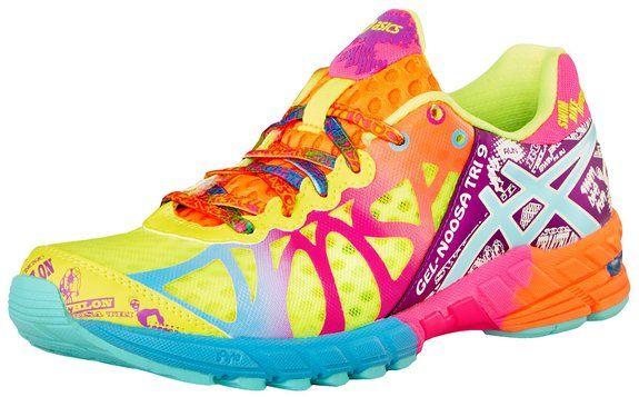 ASICS Women's Gel-Noosa Tri 9 Running Shoe,Flash Yellow/Turquoise/Berry