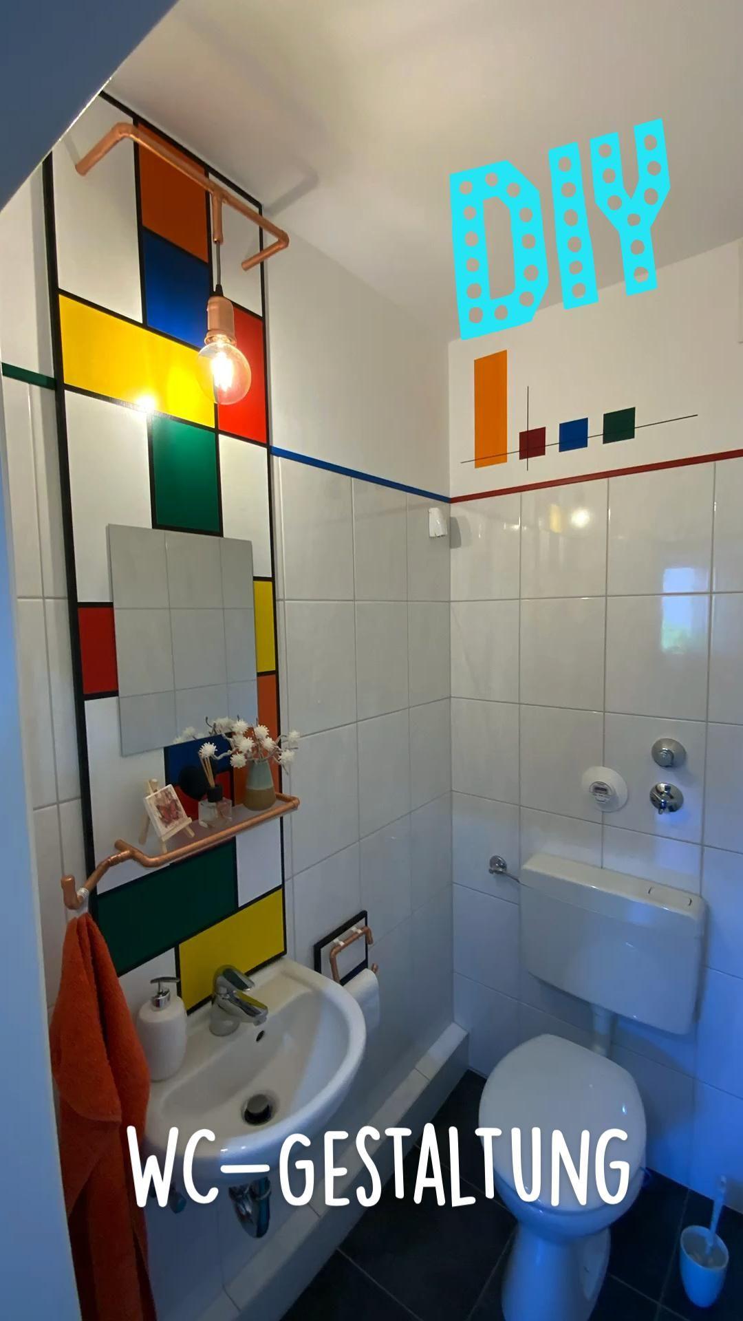 WC-Gestaltung DIY