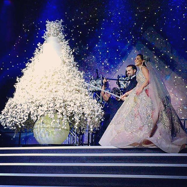 Wedding Dress : Elie Saab Wedding Venue : Forum De