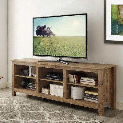 Home Loft Concepts Barnwood Tv Stand Internal Home Storage