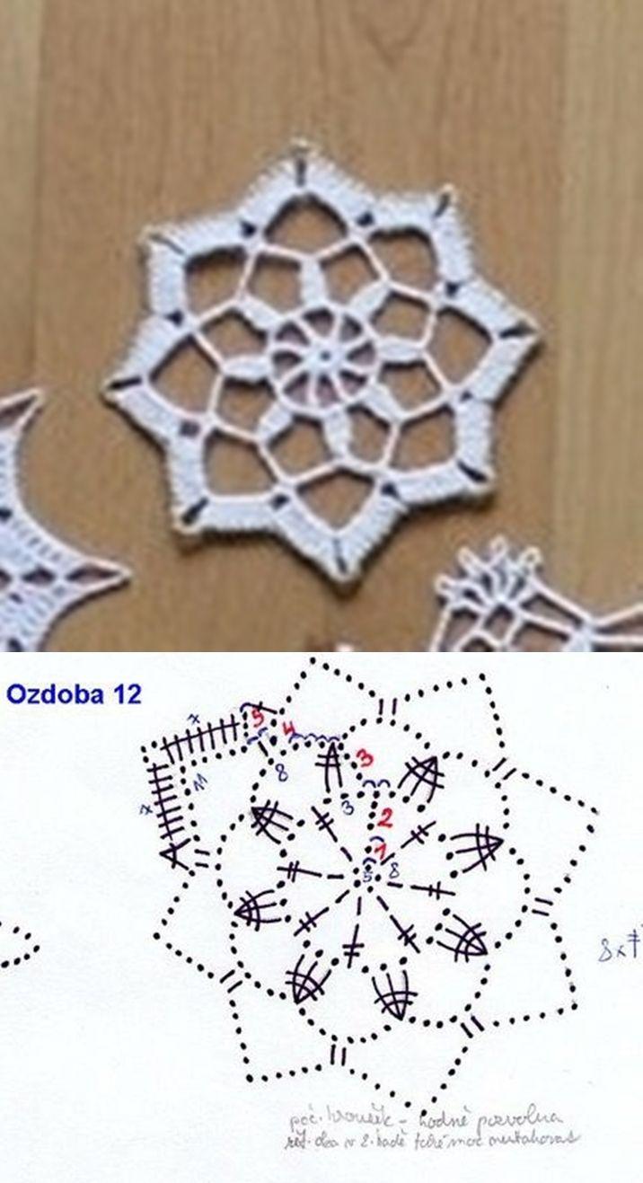 snowflake 638 | estrellas de navidad | Pinterest | Atrapasueños ...