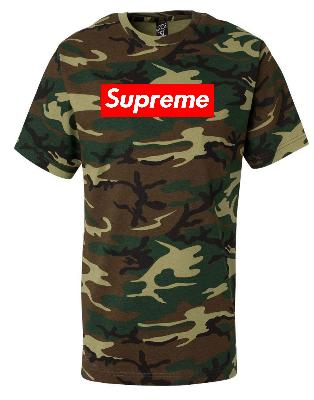 bf91be481075 Supreme Box Logo Camouflage T-shirt