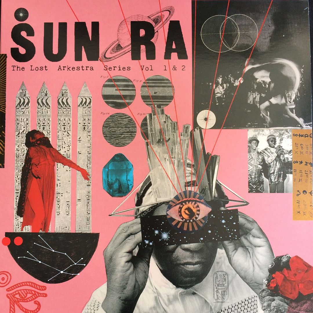 Beautiful Sunra Sleeve By Victoriatoppingart Double 10 On Artyard Spaceistheplace Sketchbook Cover Photography Sketchbook Album Cover Art