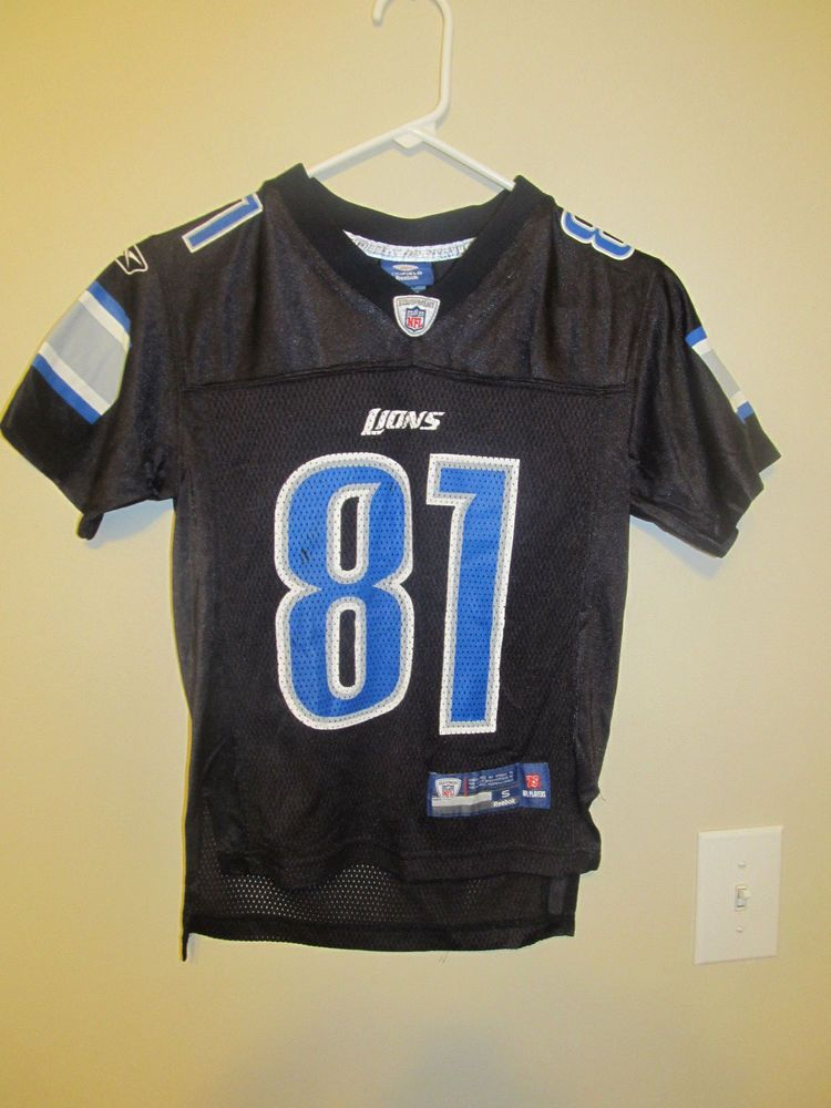 purchase cheap 990e7 31e7f Calvin Johnson - Detroit Lions Jersey - Reebok Youth Small ...