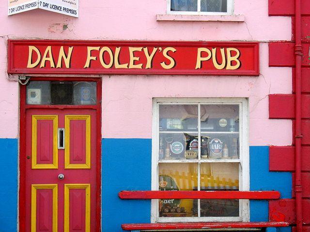 Colours' mix.Ireland
