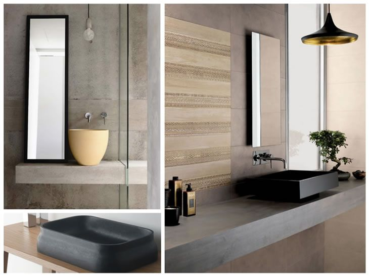 ideas de interiores minimalistas -22 baños Pinterest Bathroom