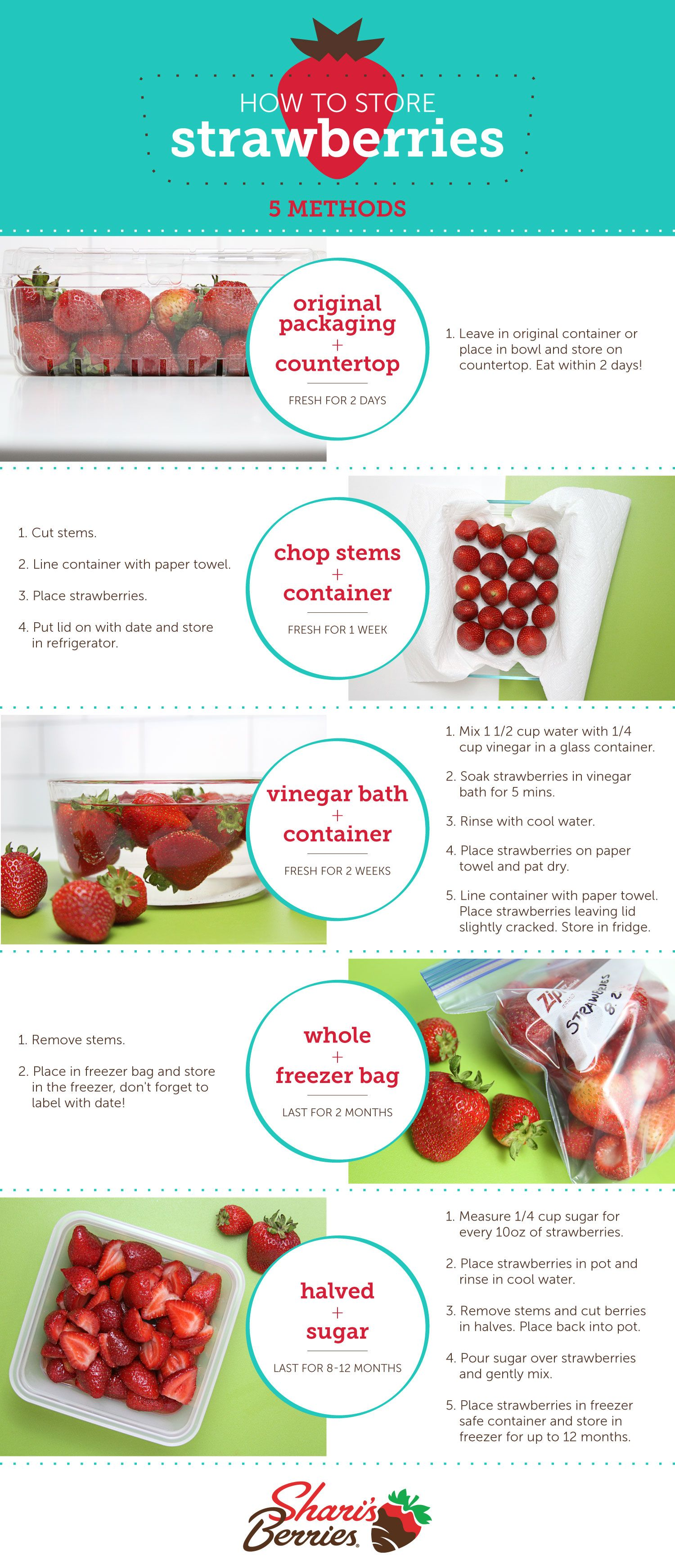 How to Store Strawberries For Up To Two Weeks