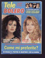 TELE BOLERO 12/1993 SERFATY BUD SPENCER EXTRA LARGE JEANNETTE RODRIGUEZ SCHIFFER