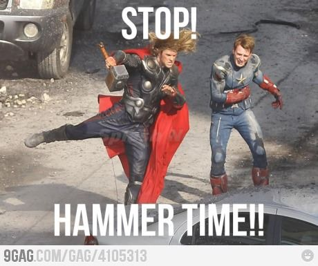 Hammer time!! #movietimes