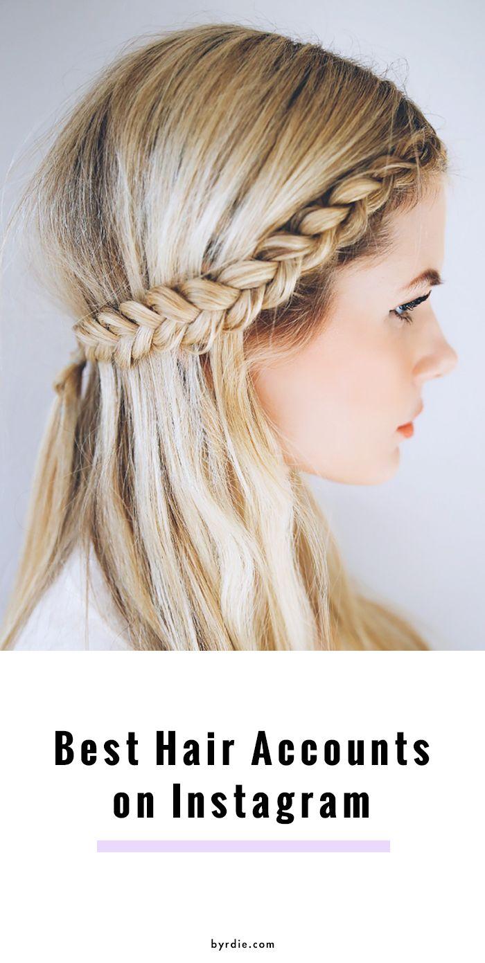 13 Hair Instagram Accounts Every Beauty Editor Follows | Hair ...