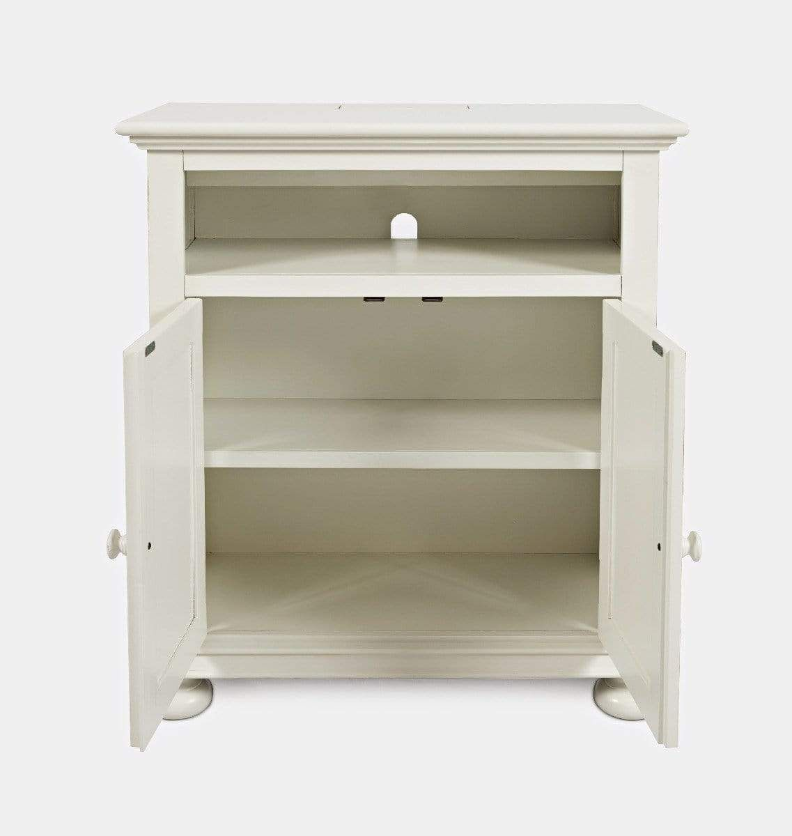 Stately Manor Power Accent Chest - Antique White