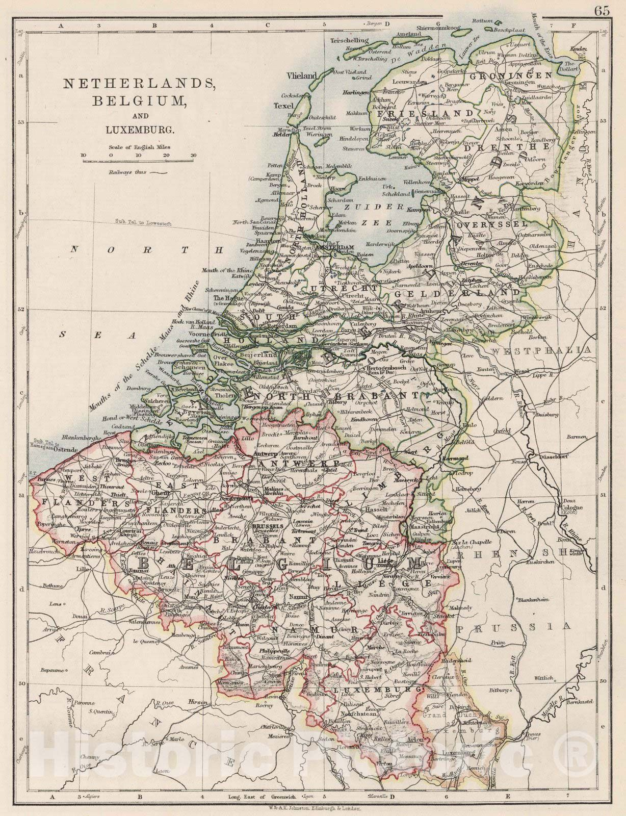 <p>1906 Netherlands, Belgium, and Luxemburg (Luxembourg). </p>
