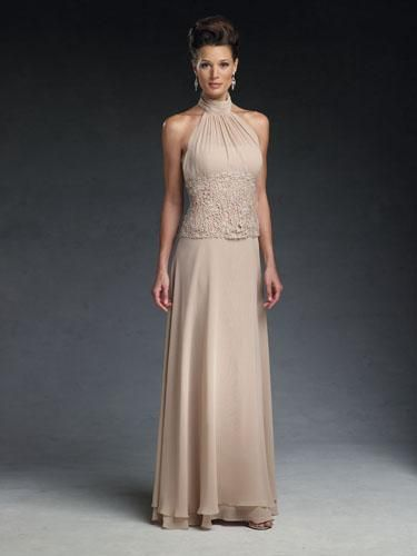 Classic simplicity distinguishes special occasion mother of the bride  dresses by Cameron Blake e121e469b60a
