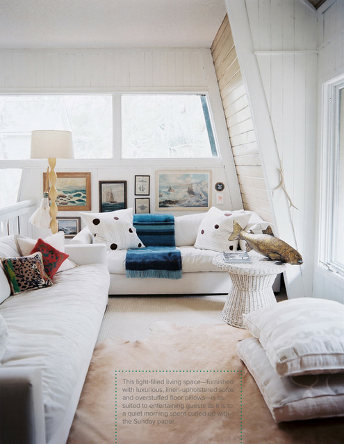 cute use for loft - cozy lounge | Living room photos, Home ...