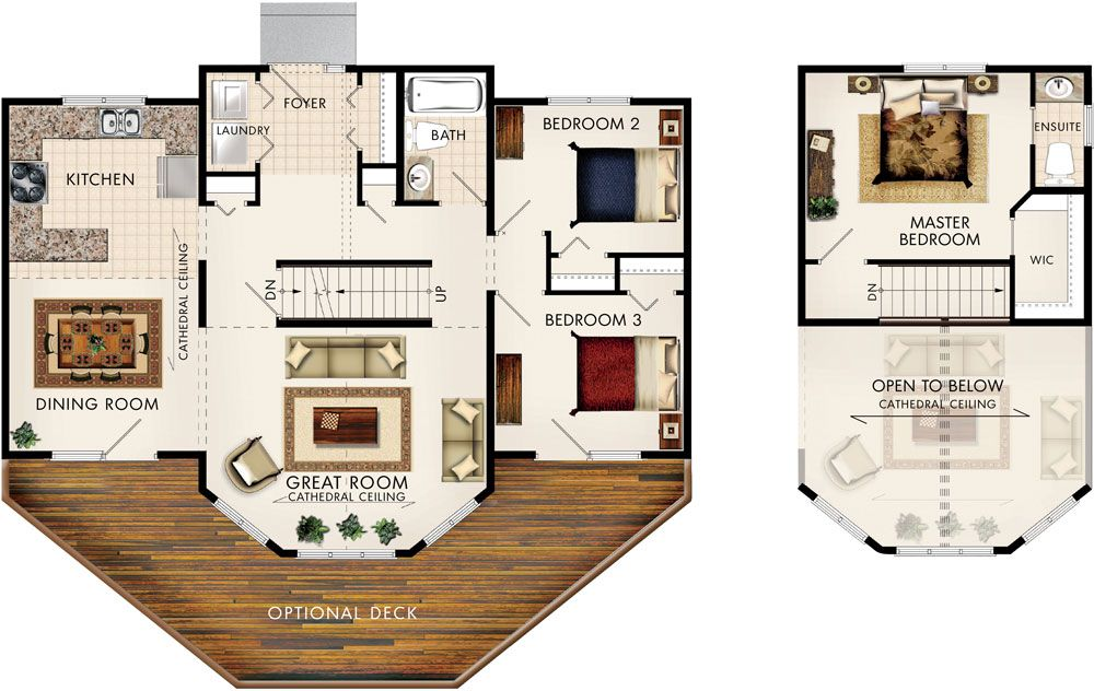 Taylor Creek I House Floor Plans Beaver Homes And Cottages Beaver Homes
